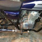 Honda CB 400 SS Дуги, защита глушителя