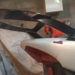 Honda CBR 600 F4i Крепление центрального кофра