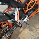 KTM Duke 390 Клетка, защита пассажирских подножек, слайдера на маятник