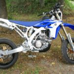 Yamaha WR 450 Подрамник, пеги в оси колес