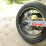 Suzuki DRZ 400 SM Слайдеры в ось заднего колеса