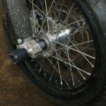 Husqvarna SMR 511 12г Слайдеры в ось переднего колеса